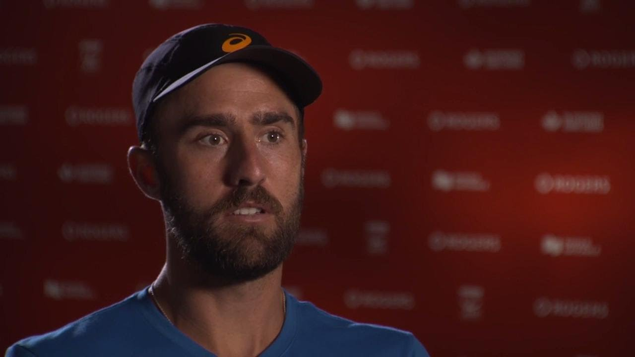 Rogers Cup sit down with Steve Johnson