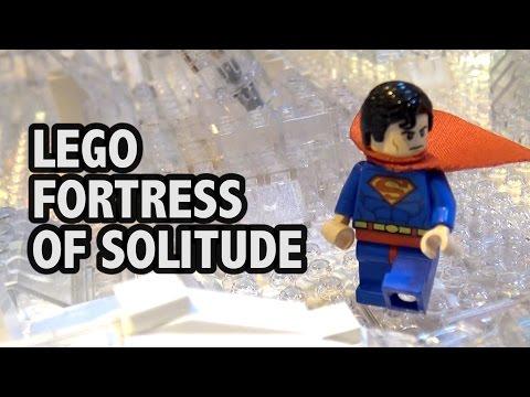 LEGO Superman Fortress of Solitude | Brick Birmingham 2016