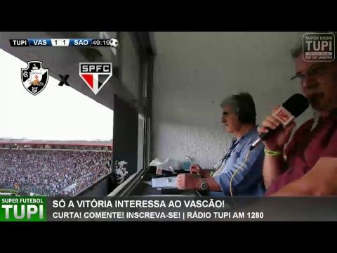 Vasco 1 x 1 São Paulo - 34° Rodada - Brasileirão - 12/11/2017 - AO VIVO