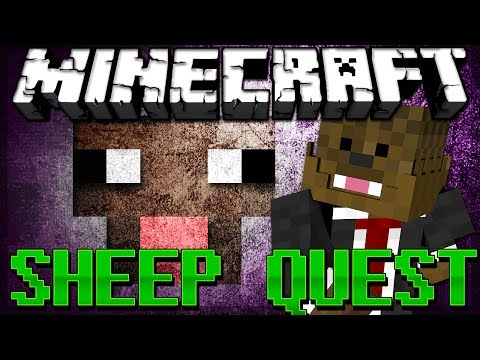 BRAND NEW Minecraft Sheep Quest Minigame w/ Bashur and Gizzy!