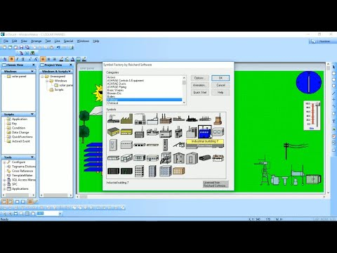 Solar Power Plant Automation SCADA Advanced Tutorial | Popul