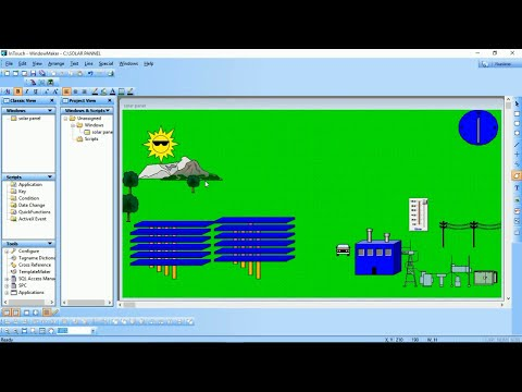 Solar Power Plant Automation SCADA Advanced Tutorial | Popular SCADA videos