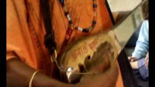 Folk Music love song Prem by Baul at Train in India