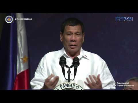 Meeting with the Filipino Community (Speech)  10/25/2016