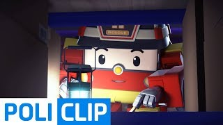 You're here. Freeze! | Robocar Poli Rescue Clips