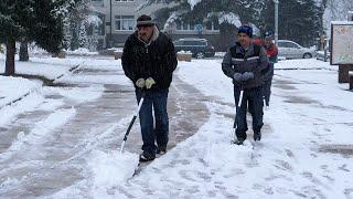 Snijeg stigao u nizine Središnje Bosne
