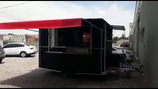 Trailer para espetinho e lanches - Direto dá Kiko Trucks
