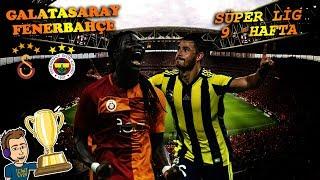 GALATASARAY - FENERBAHÇE DERBİSİ - SÜPER LİG 9. HAFTA FIFA 18