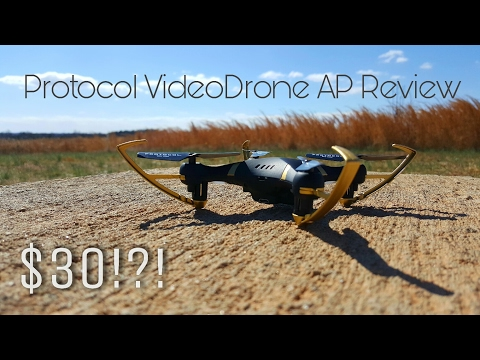 Best CHEAP Drone? Protocol VideoDrone AP Unboxing and Review!
