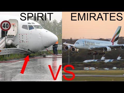 Spirit Airlines VS Emirates