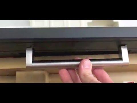How To Install IKEA Door Handles   FAST U0026 EASY!