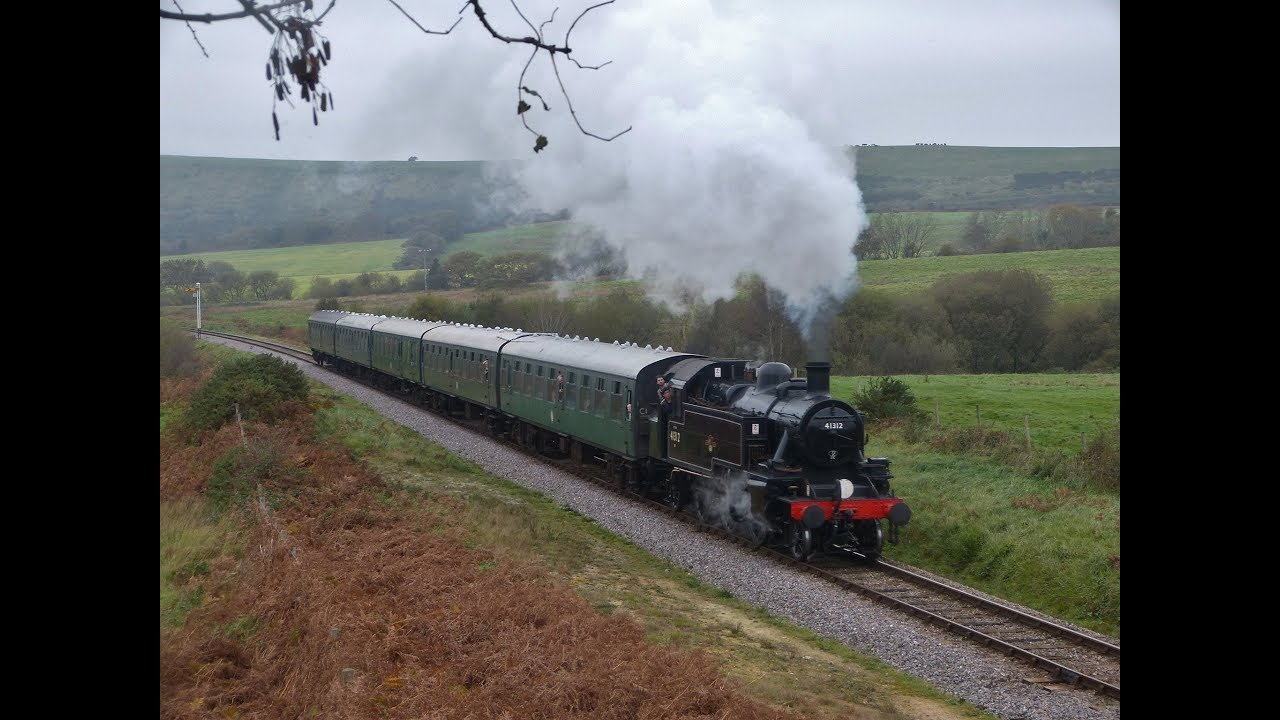 Swanage Railway (Blue Timetable Service) - 26/10/2017