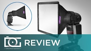 REVIEW | Flash Diffuser Light Softbox for Speedlite Flashes | By Altura Photo®