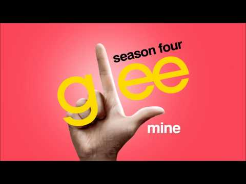 Mine - Glee [HD Full Studio]