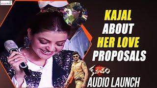 Kajal About Her Love Proposals @Kavacham Audio Launch