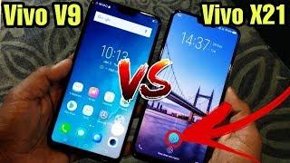 Vivo X21 VS Vivo V9 | Full Details Comparison | In Hindi By Tech In...