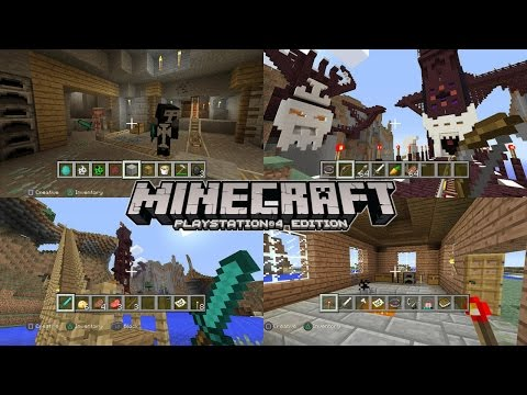Lets Play Minecraft Playstation Tutorial