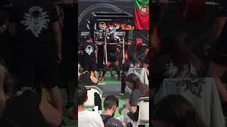 380kg Squat at PowerExpo, Portugal