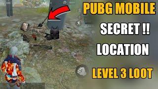 PUBG MOBILE SECRET LOOT LOCATION !! PUBG MOBILE NEW SECRET TRICKS