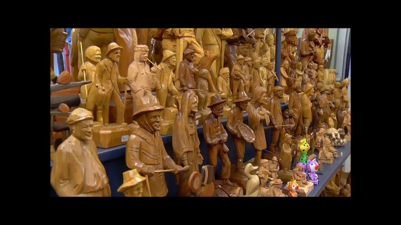 sculpture bois quebec