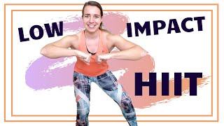 30 Minute Low Impact HIIT Workout – Cardio HIIT Exercises for Fat Loss With Low Impact – No Jumping