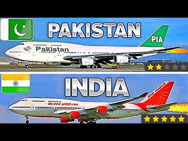 PAKISTAN VS INDIA | AIRLINES COMPARISON | 2020
