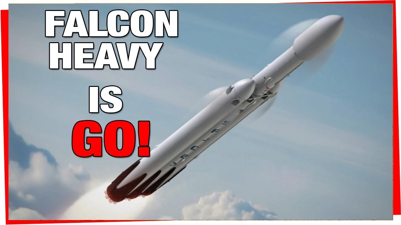 elon musk confirms spacex falcon heavy launch date falcon heavy is ready to fly youtube. Black Bedroom Furniture Sets. Home Design Ideas