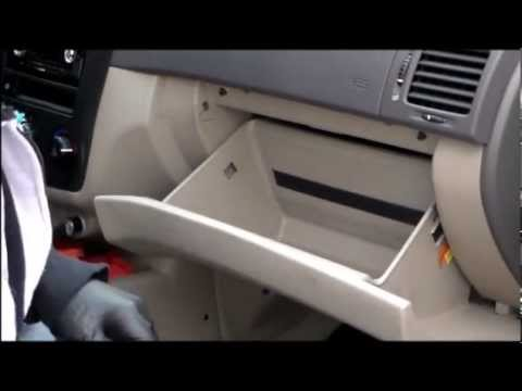 2006 Kia Spectra Cabin Air Filter Replacement Youtube