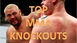 50 of the best UFC knockouts ever !!!