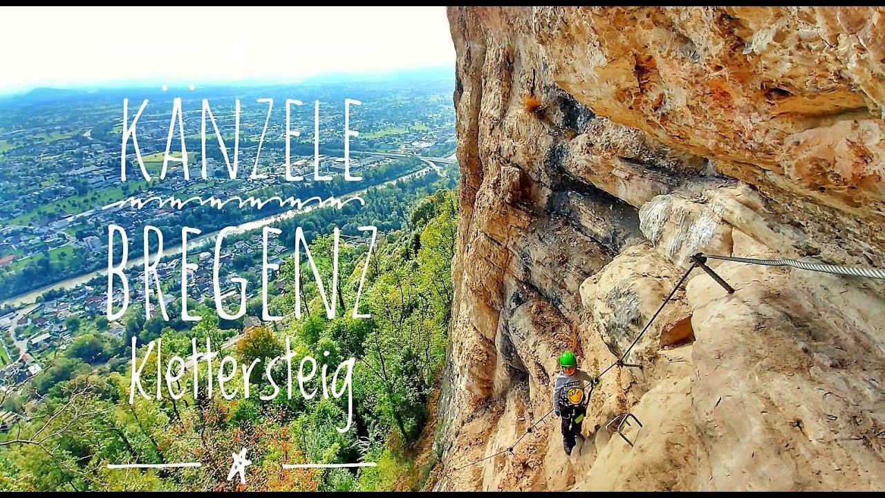 Klettersteig Bregenz : Känzele klettersteig bregenz gebhardsberg pfänder youtube