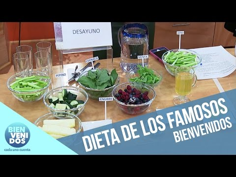 Equilibrio Vital: La dieta de los famosos   Bienvenidos