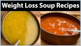 Healthy Soup Recipes for Weight Loss | Tomato & Pumpkin Soup Recipe | Fat to Fab