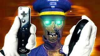 So I Played TRANZIT with WII REMOTE... Call of Duty Black Ops 2 Zombies Wii U Gameplay