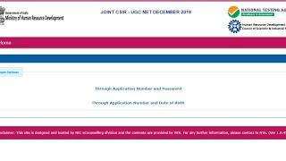 CSIR NET RESULT DECEMBER 2019   CUTOFF FOR JRF & LS