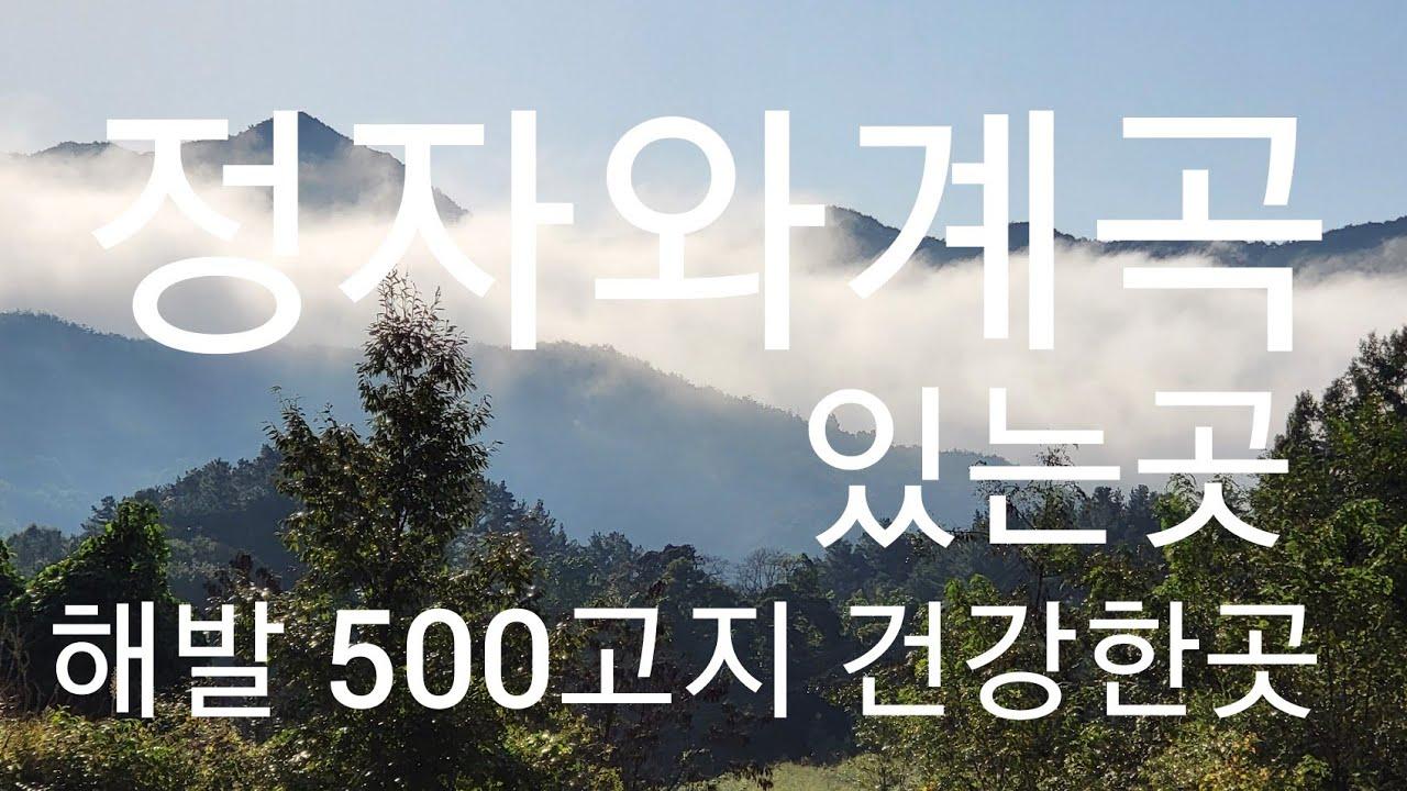 해발 500고지 계곡과정자가 있는곳 상담 063.324,2442