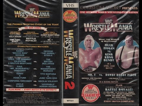 WWF (WWE) Wrestlemania 2 Review :: Hogan vs. Bundy In A Steel Cage :: Mr. T vs. Piper Boxing Match