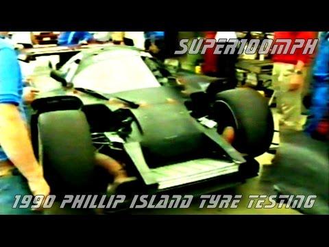 1990 PHILLIP ISLAND Dunlop Tyre Testing