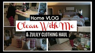 Home Vlog ~ Daily Cleaning Routine + Zulily Clothing Haul