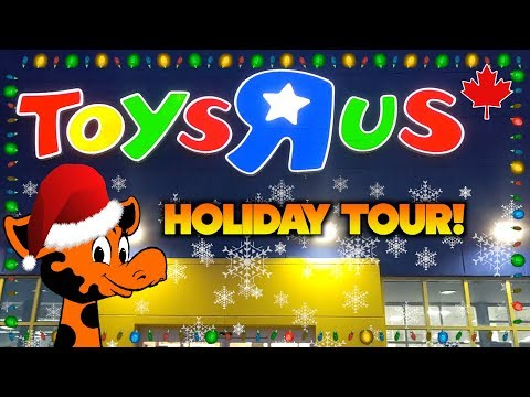 Toys R Us Holiday Tour! 🎅