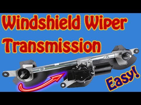 How to Replace a Windshield Wiper Transmission on Chevy Equinox Windshield Wiper Repair
