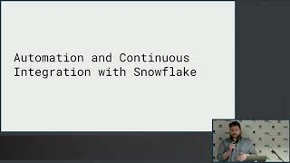 Automation and Continuous Delivery with Snowflake using DBT
