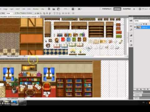 Rpg Maker Parallax Map Room Youtube