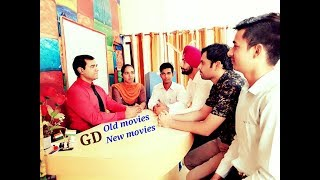 Group Discussion - OLD MOVIES vs NEW MOVIES - GD | Group Discussion in English