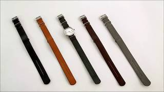 "How to Wear a NATO Strap Tutorial: ""The Thinner Way"""