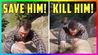 What Happens If You Choose To SAVE OR KILL Jimmy Brooks In Red Dead Redemption 2? (SECRET OUTCOME)