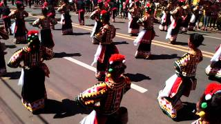 #Kaamulan2014 Street Dancing - Municipality of Don Carlos, Bukidnon