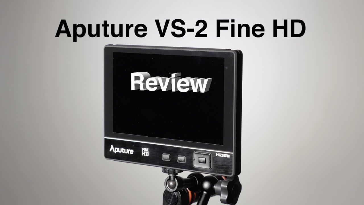 Aputure VS-2 Kit FineHD LCD Field Digital Monitor 7inch V-Screen VS-2 FineHD for DSLR Camcorder