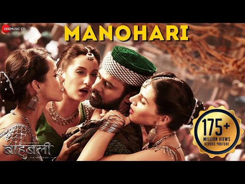 Manohari - Full Video | Baahubali - The Beginning | Prabhas & Rana | Divya Kumar