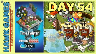Plants vs Zombies 2 Time Twister World Day 54 [Player's Choice]