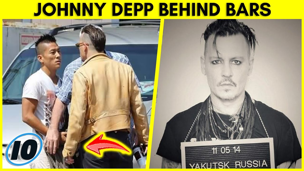 Johnny Depp Bizarrely Accepts Award From Behind Bars | InformOverload